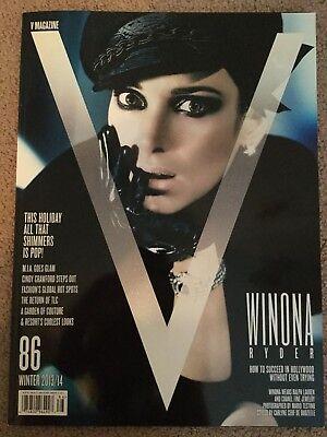 V Magazine 86 Issue Winter 2013 2014 Winona Ryder