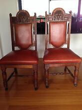 Handmade Blackwood Chairs circa1800s x 6 Tweed Heads 2485 Tweed Heads Area Preview