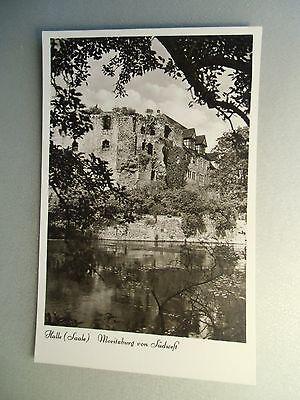Ansichtskarte Halle Saale Moritzburg von Südwest