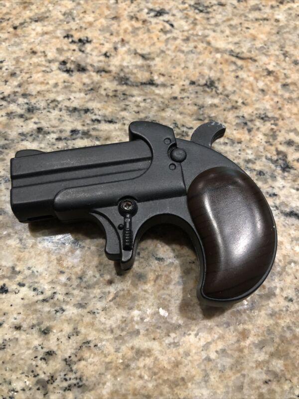 """Vintage Gun Pistol lighter 3"""" It Lights"""