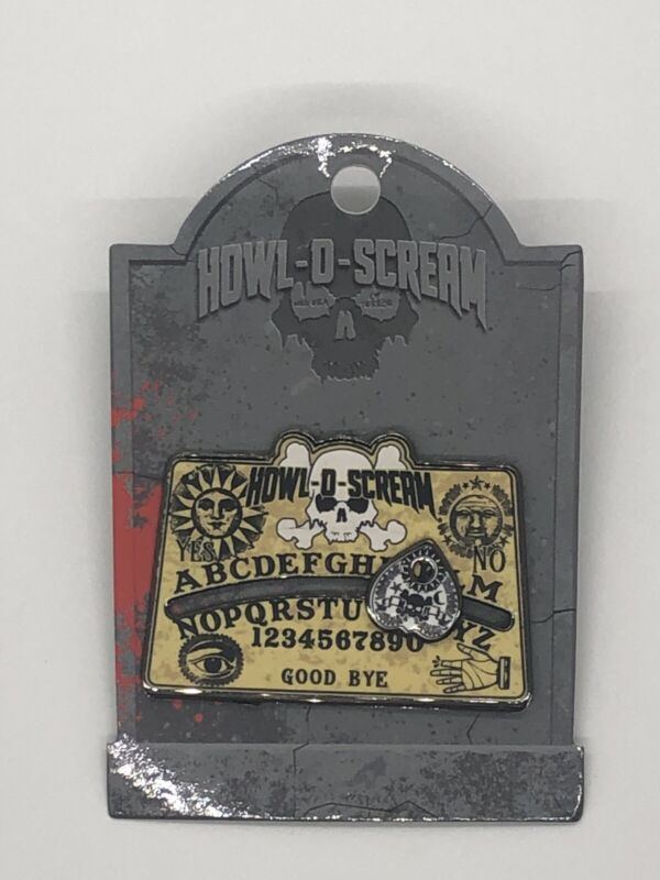 SeaWorld Busch Garden Halloween Howl-O-Scream Ouija Board Pin NOC