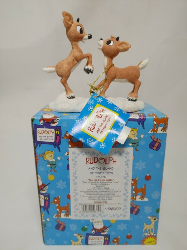 Enesco Rudolph and the Island of Misfit Toys, You Can Be My Buddy 2001, 875376