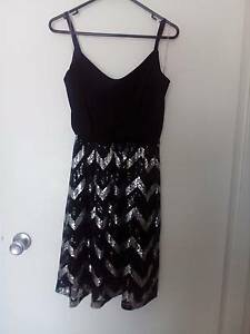 Dress- black and silver Mooloolaba Maroochydore Area Preview