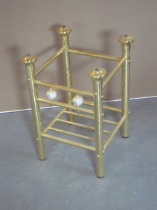 Brass End Table/Side Table