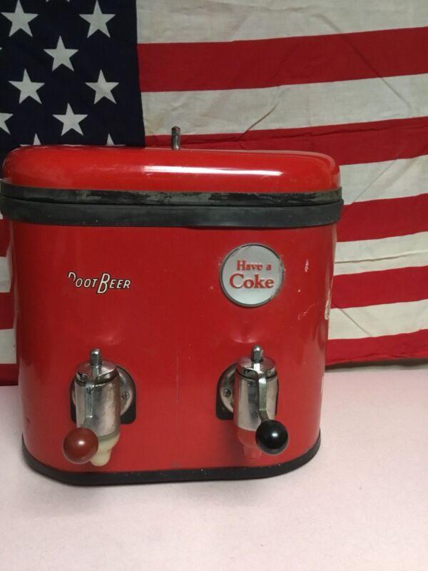 Super Rare! Multiplex 44 Coca Cola Soda Fountain Dispenser Dual Valve 1960-62.