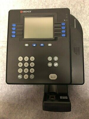 Kronos System 4500 With Kronos Touch Id Fvd Bio-metric Scanner Upgrade