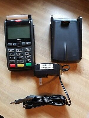 Ingenico Iwl220emv Wireless Bluetooth Credit Card Terminal Base Tsysbaseline