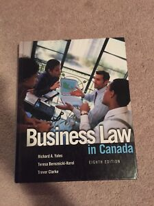 Business law in Canada (eighth edition)