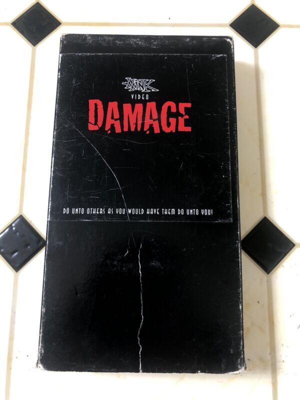 Think Skateboards Damage Rare VHS Skate Video