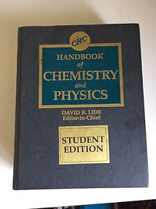 Handbooks Chemistry and physics