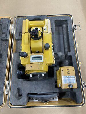 Topcon Gts-3b Theodolite Total Station Surveying Equipment W Case S7