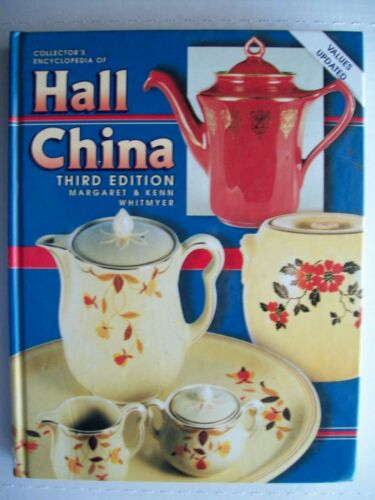 Antique Hall China Big Book $$$ id Price Guide Collector