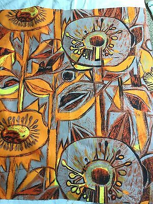 Vintage Retro Tibor Reich 1970s Curtain Fabric 'Lancaster' 89cm