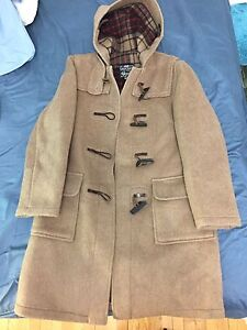 Tan gloverall coat large