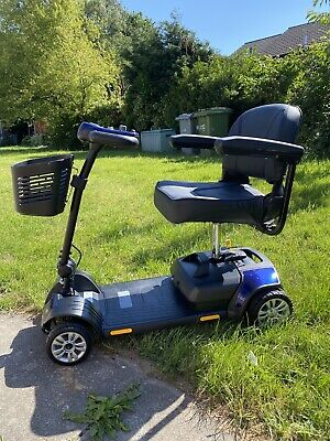 livewell jaunt plus 4mph travel car boot mobility scooter