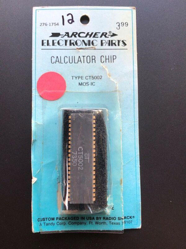 Cal-Tex calculator chip CT5002