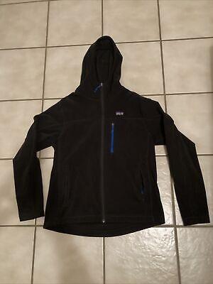 Patagonia Men's medium Fleece Black Hoodie