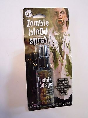 Movie Quality Zombie Blood Spray Portable Trick or Treat Halloween Costume  (Movie Quality Halloween Costumes)