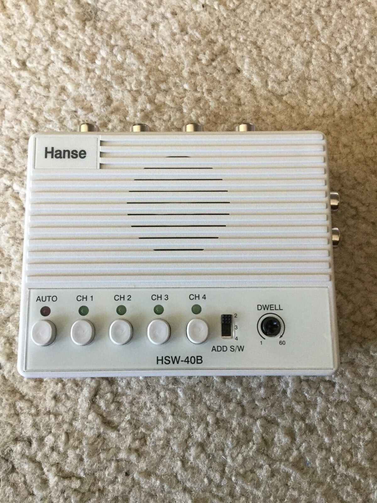 Hanse Electronics HSW-40B 4CH Auto Switcher New