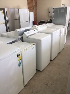 Washing machines fridges dryers from $200 with warranty