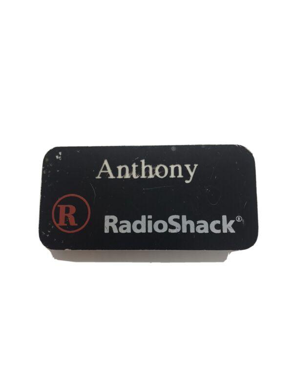 Vintage RadioShack Employee Badge Name Tag