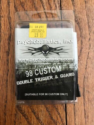 Psychoballistics Inc Paintball Gun Marker Part 98 Custom Double Trigger & Guard