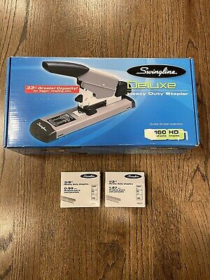 Swingline 39005 Deluxe Heavy Duty Stapler - 160 Sheet Capacity