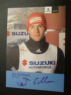 17348 Jan Eichhorn Wintersport original signierte Autogrammkarte