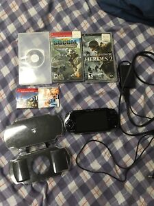 PSP and games, mint condition, always kept in case