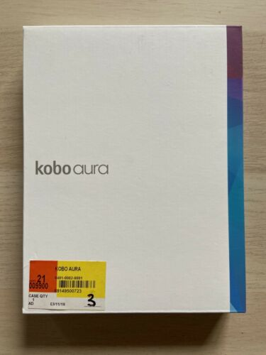 Kobo Aura - eBook reader - 4 GB - 6""