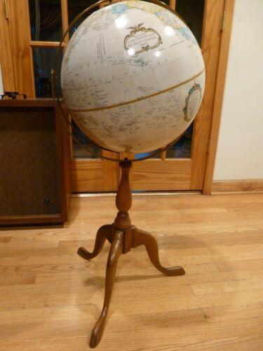 "Replogle 16"" World Classic Series Floor Globe w/ Wood Stand"
