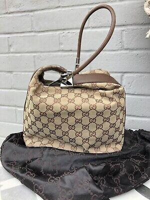 Authentic Gucci Handbag With Original Dust Bag