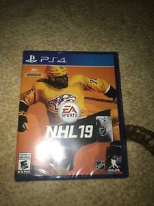 NHL 19 PS4 BRAND NEW SEALED NEVER OPENED