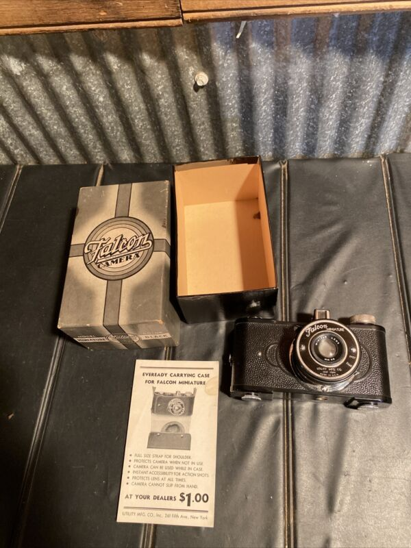 Vintage Falcon Miniature Camera Utility Mfg Co. New York