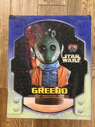 Star Wars Legend in 3 Dimensions - Greedo *SIGNED BUST* Maria De Aragon