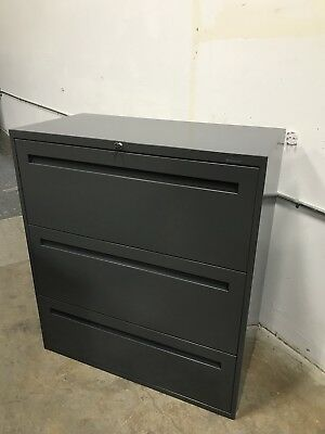 Filing Cabinet 3 Drawer Lateral Teknion