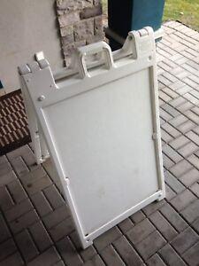 """""""Deluxe"""" A-Frame Sandwich Board"""
