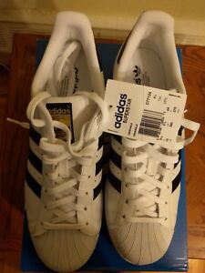 Adidas Superstar shoes size 10