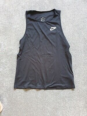 Nike Womens Black Yoga Vest - Size Small