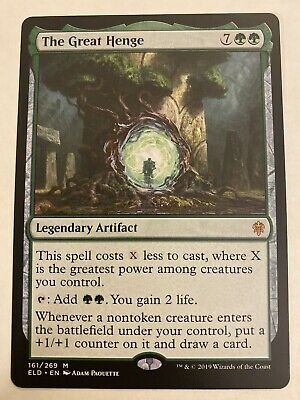 The Great Henge NM Near - Throne of Eldraine - MTG Magic The Gathering