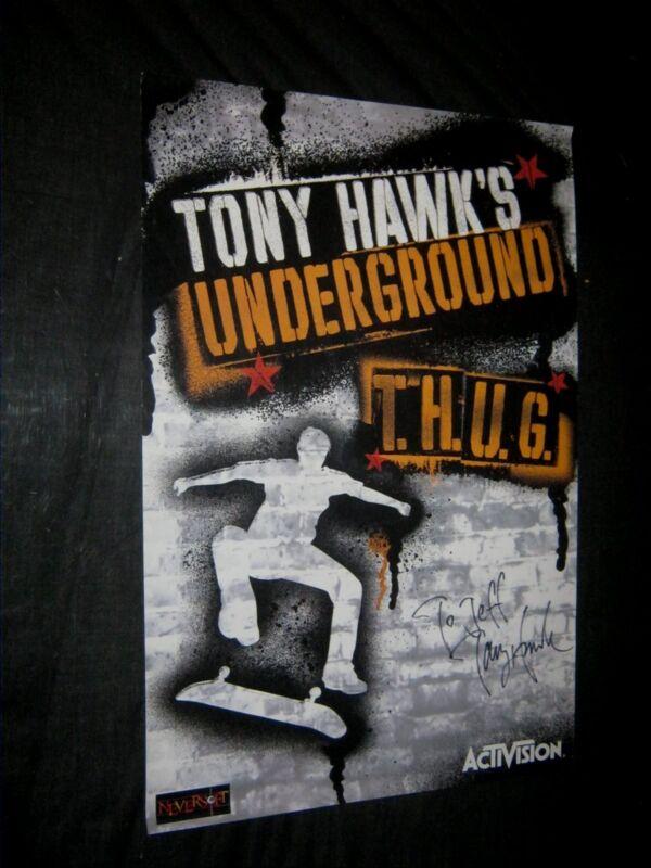 Original Signed in Person TONY HAWK