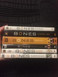 BONES seasons 1-6