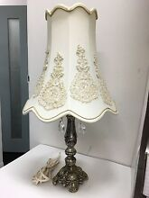 Antique bedside table lamp with shade Ultimo Inner Sydney Preview