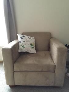 Sofa chair with cushion (2 sofas and couch available) Unley Unley Area Preview