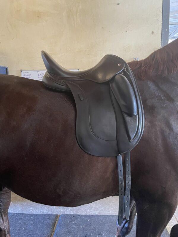 GREAT Condition Schleese Obrigado Dressage Saddle- 17' Black