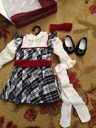 American Girl Nellie Holiday Outfit