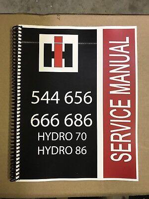 Hydro 86 International Harvester Tractor Technical Service Shop Repair Manual