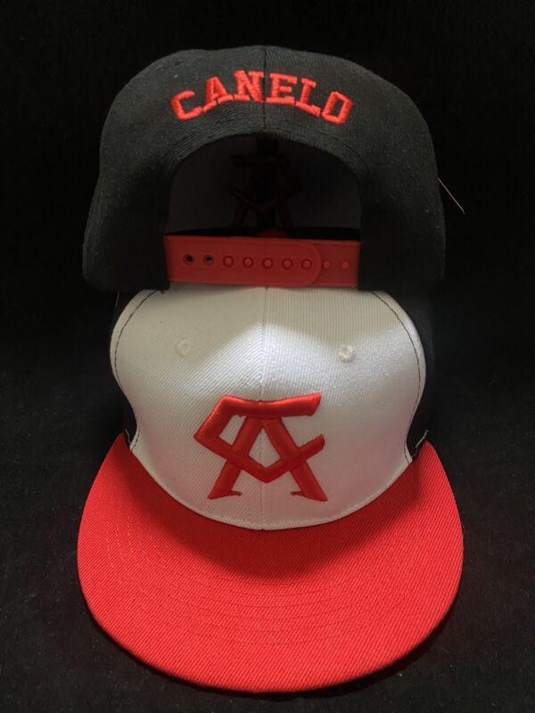 Canelo Alvarez Hat 3 tone Red brim BOXING CHAMPION SNAPBack New Rare