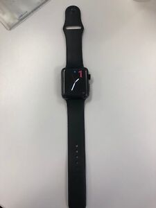 Apple Watch 3 Black Stainless steel series with Cellular