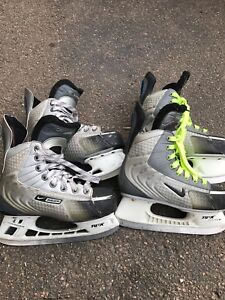 Hockey skates size 4EE and 2D